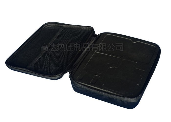 Multi Functional EVA Tool Case Nylon 1680D Materials With Hot Pressing Debossed Logo