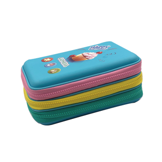 New Design EVA Pen Box for Students 3 layers