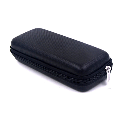 Black Watertight Hard Pencil Case For Kids , Custom School Pencil Case