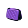 Portable Earphone / Headphone Carrying Case With Hot Pressing Logo Water Proof