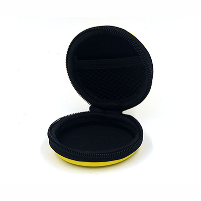 Hard Shell EVA Earphone Storage Case With Screen Printing Logo